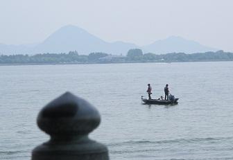 240526浮見堂から近江富士