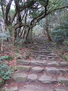 20150315宝満山石段