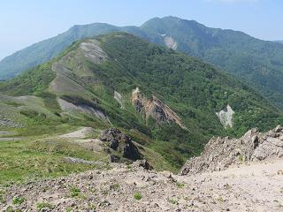 20150530真砂の峰から金北山