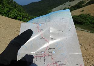 20150530石花登山道分岐