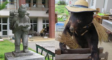 20150628二宮金次郎と熊