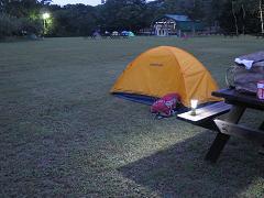 20150806アポイ山麓キャンプ場
