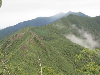 20150808吉田岳からピンネシリ