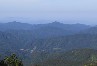 20150923摩耶山から日本国