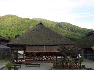 20151003大内宿から小野岳