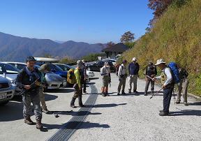 20151017白木峰登山口