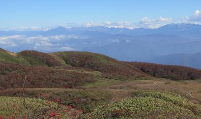20151017白木峰から立山
