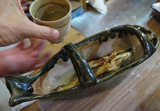 20151017岩魚の骨酒