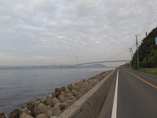 20151122再び明石大橋