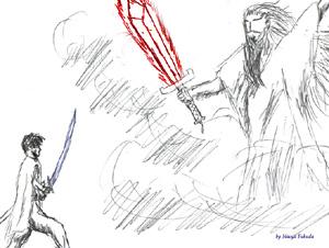 青き正義と赤き神