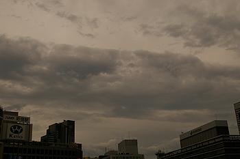 (PHOTO)雲の中の顔のようなもの