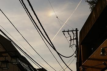 (PHOTO)飛行機雲
