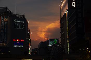 (PHOTO)赤き雲
