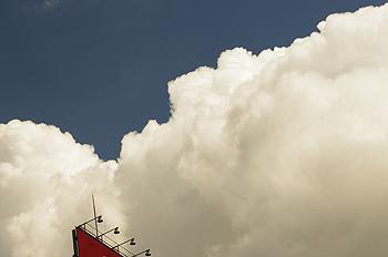 (PHOTO)もくもく白い雲