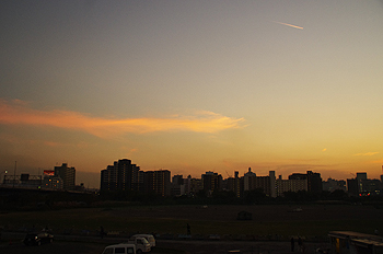 (PHOTO)龍のような雲