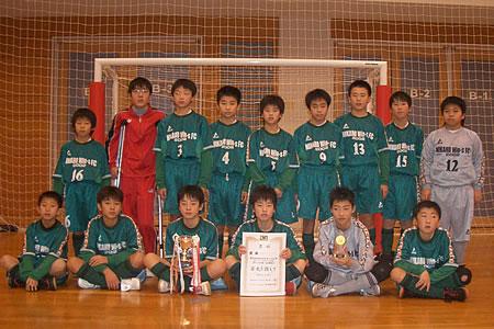 100124 由利本荘・にかほジュニアフットサル大会U-12