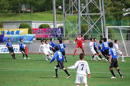 2010JFL前期第10節 ソニー仙台戦