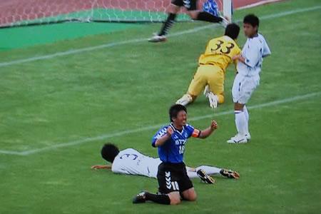 JFL前期第11節SAGAWA戦