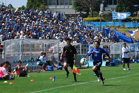 2010JFL前期栃木UVA戦