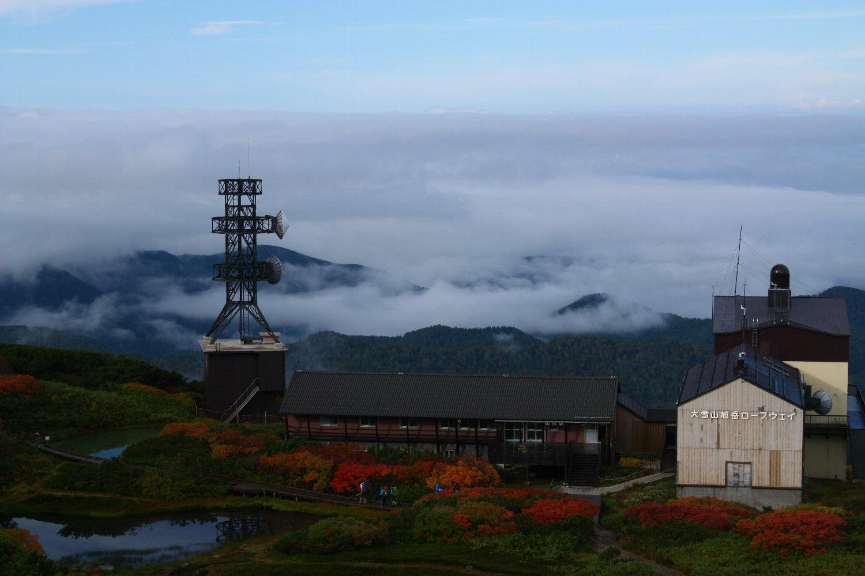 第一展望台からの雲海
