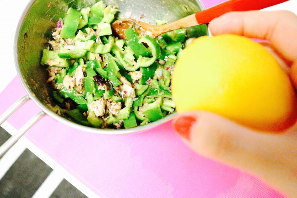 【JULICA ジュリカ】ユリカズキッチン「オイルサーディンとピーマンのサラダ」
