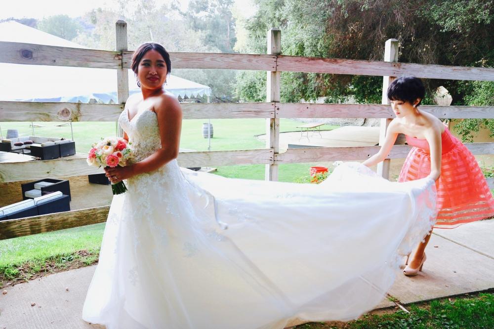 【JULICA ジュリカ】my best friend's wedding in LA, bridesmaid, wedding swarovskiearrings