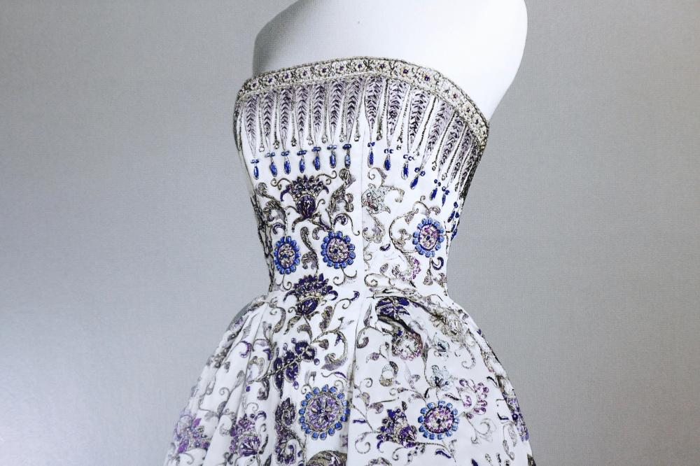 【JULICA ジュリカ】BONBON ボンボン + クリスチャン・ディオール イヴニング・ドレス《パルミール》 1952年秋冬