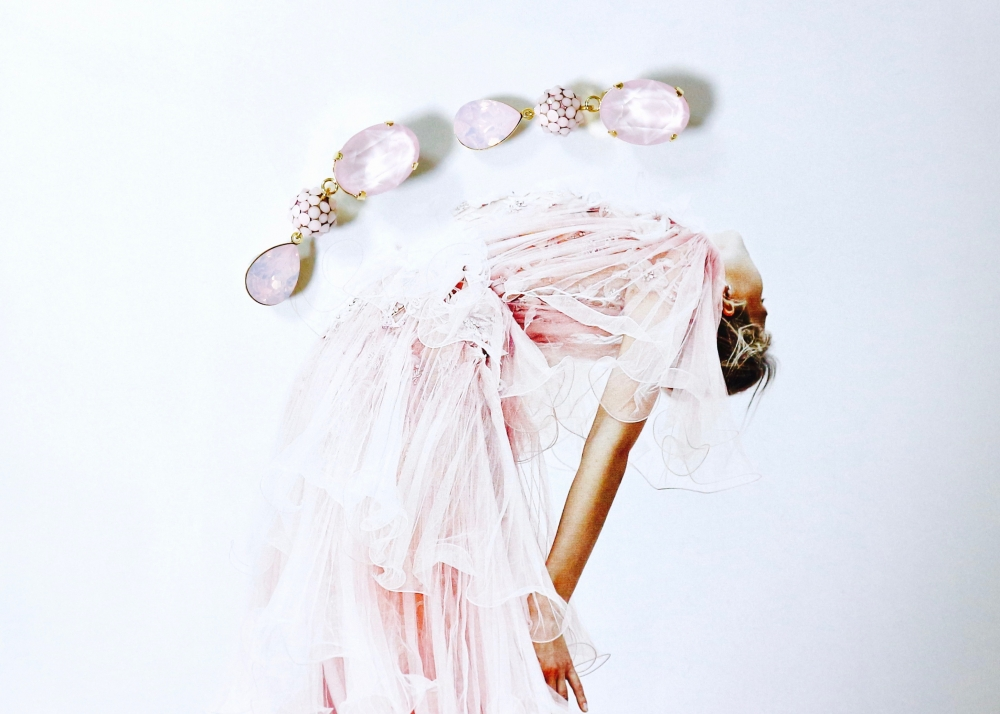 【JULICA ジュリカ】swarovski earrings-debut! スワロフスキーイヤリング「デビュー!」