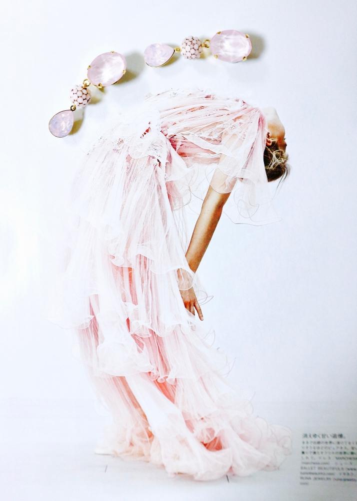 【JULICA ジュリカ】swarovski earrings-debut! スワロフスキーイヤリング「デビュー!」。