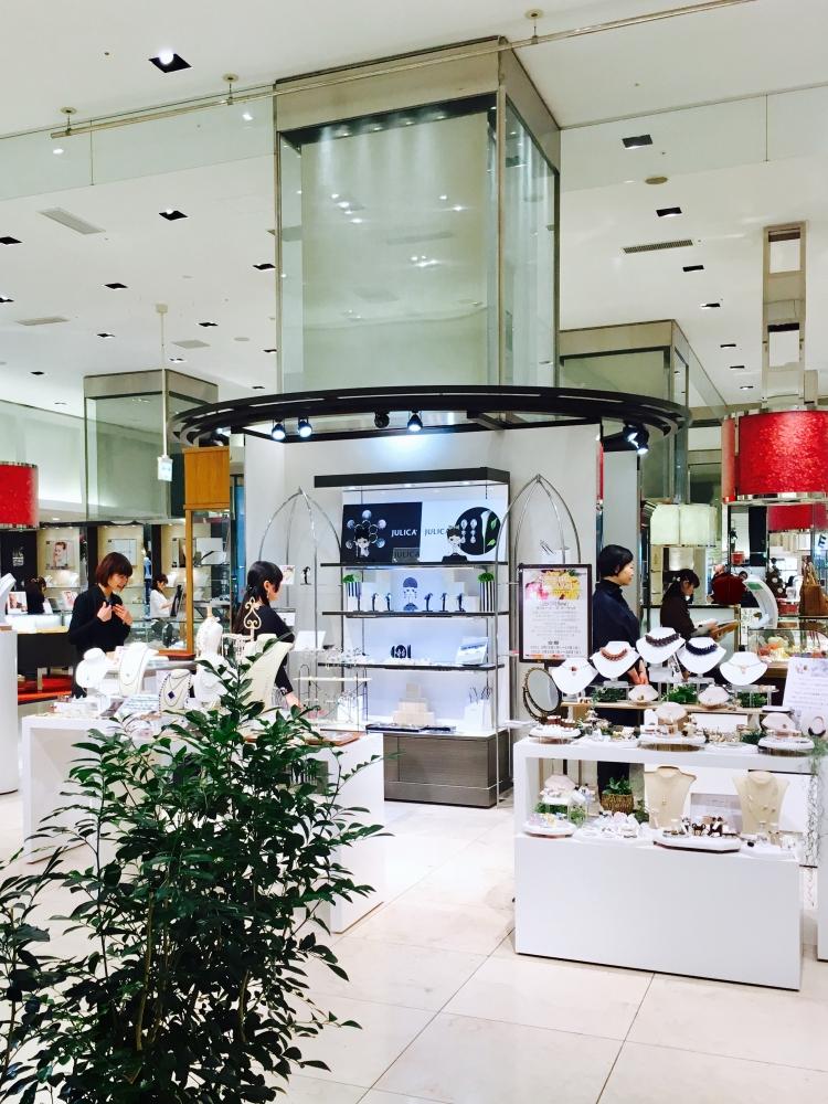 【JULICA ジュリカ】新宿タカシマヤ限定ショップ/展示会lightsのお知らせ。