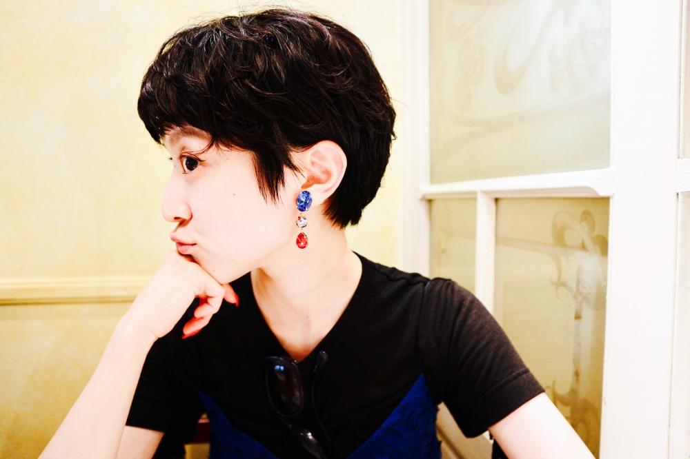 【JULICA ジュリカ】ジュエリーデザイナーゆり香のジュエリー、イヤリング、ファッションコーデ、東京、銀座、マリアージュフレール。