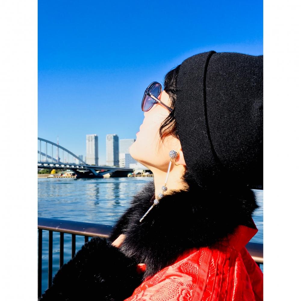 【JULICA ジュリカ】ジュエリーデザイナーゆり香のジュエリー、イヤリング、ファッションコーデ、東京、築地。