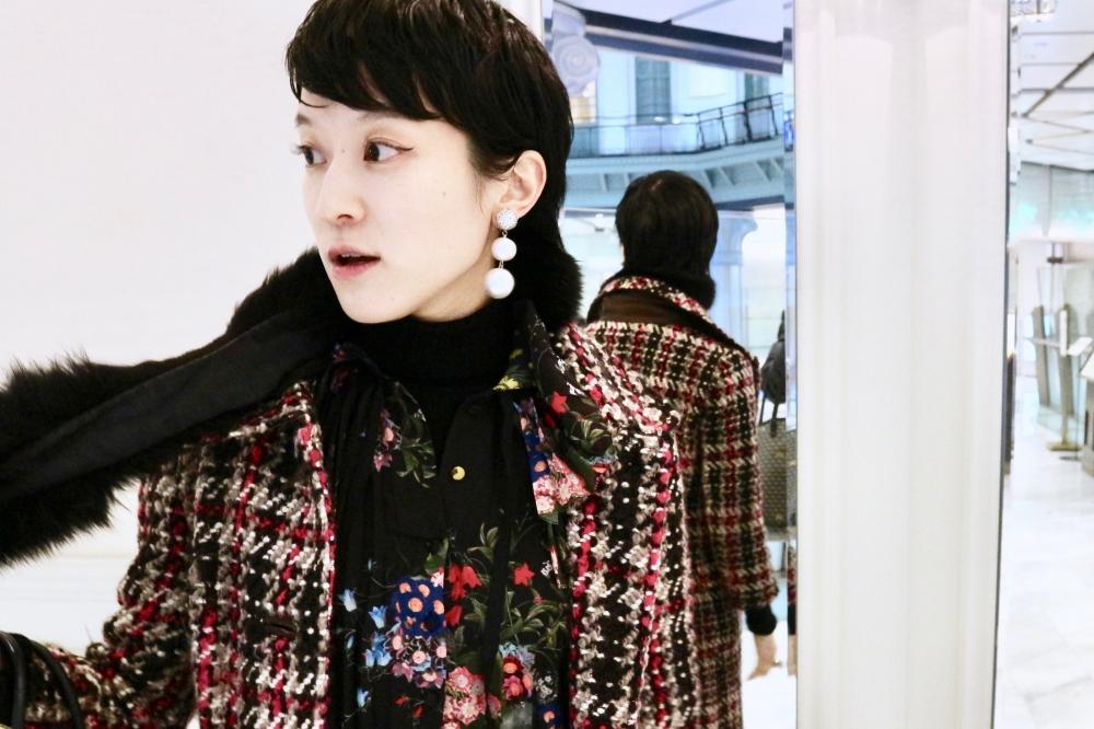 【JULICA ジュリカ】ジュエリーデザイナーゆり香のジュエリー、イヤリング、ファッションコーデ、東京、東京ステーションホテル。