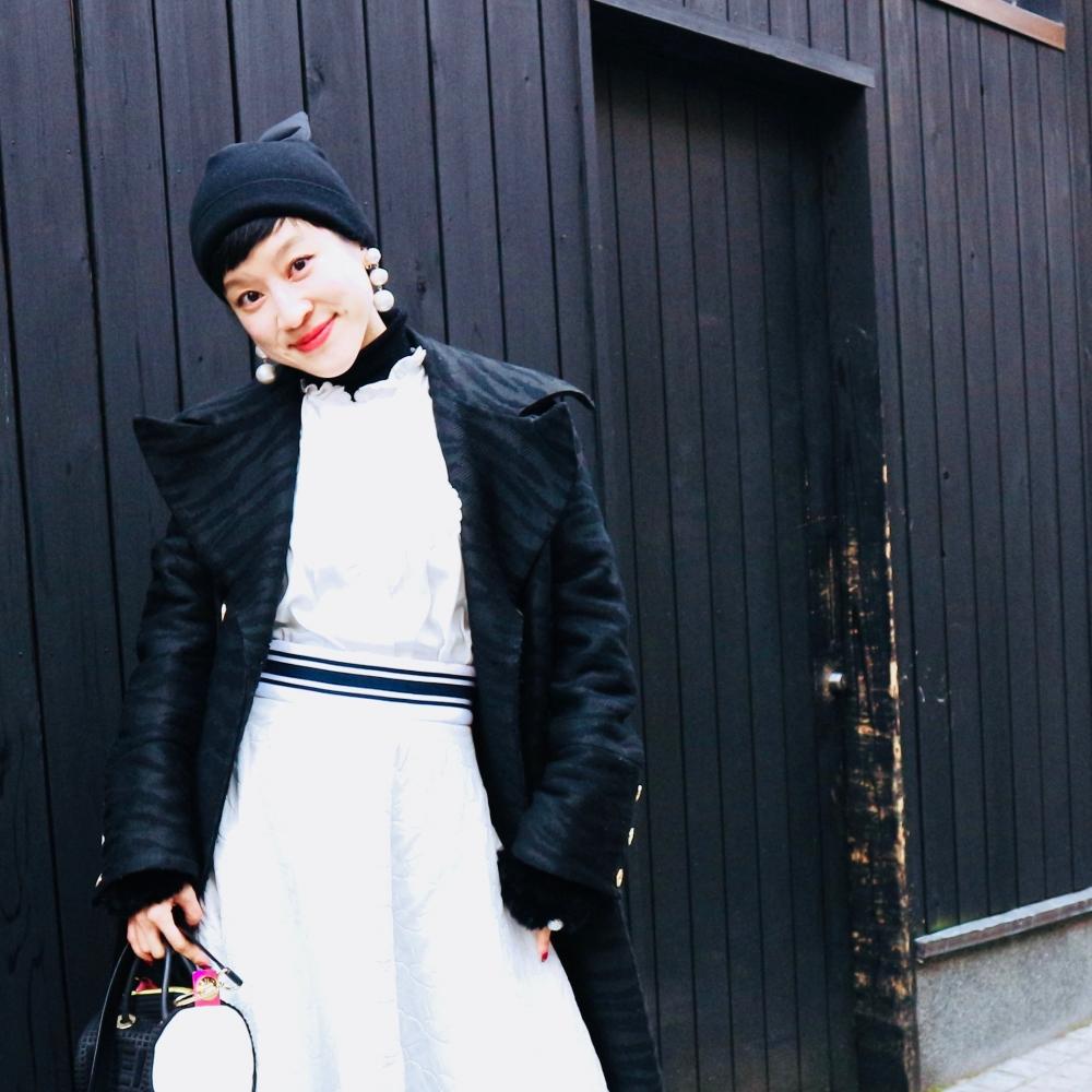 【JULICA ジュリカ】ジュエリーデザイナーゆり香のジュエリーとイヤリングのファッションコーデや大好きな銀座を紹介するブログです。ハッピーバレンダインズデイ!軽やかなパールイヤリングで2月のファッションも楽しみましょう♡