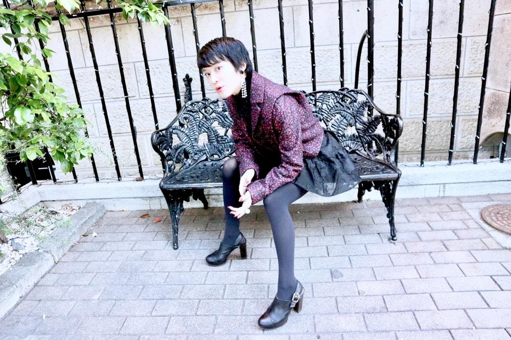 【JULICA ジュリカ】ジュエリーデザイナーゆり香のジュエリーとイヤリングのファッションコーデや大好きな銀座を紹介するブログです。生産終了予定のパールイヤリング・ジャジー!3のコーディネートをご紹介します。
