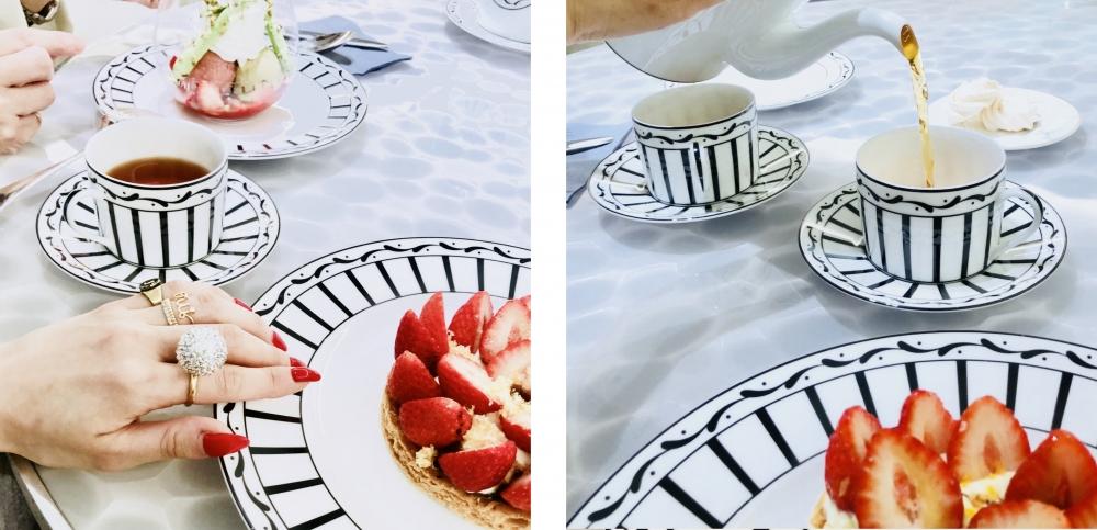 【JULICA ジュリカ】ジュエリーデザイナーゆり香のジュエリーとイヤリングのファッションコーデや大好きな銀座を紹介するブログです。今日はGINZASIXにあるDior cafeをご紹介。