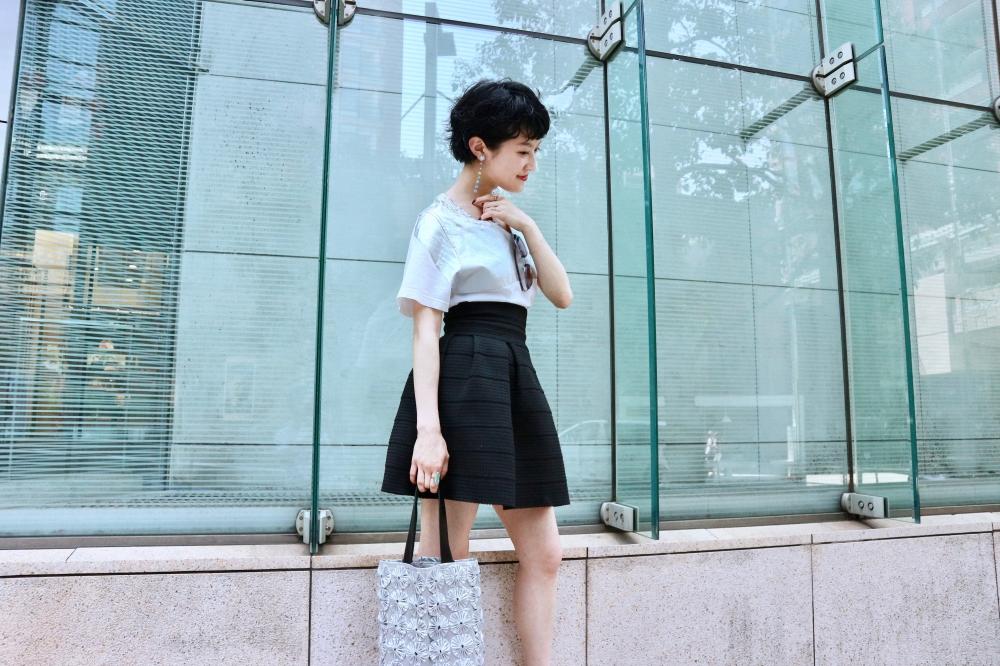 【JULICA ジュリカ】ジュエリーデザイナーゆり香のジュエリーとイヤリングのファッションコーデや大好きな銀座を紹介するブログです。レインボンボンをつけて、六本木エルカフェでランチ