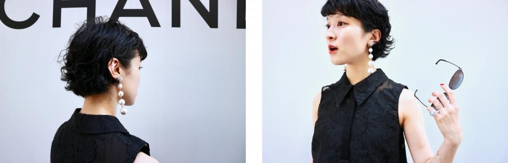 【JULICA ジュリカ】ジュエリーデザイナーゆり香のジュエリーとイヤリングのファッションコーデや大好きな銀座を紹介するブログです。銀座三越6Fデイビッドマイヤーズカフェ、シャネルにて。