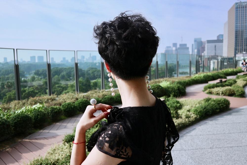 【JULICA ジュリカ】ジュエリーデザイナーゆり香のジュエリーとイヤリングのファッションコーデや大好きな銀座を紹介するブログです。東京ミッドタウン日比谷。