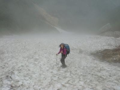 雪渓大好き