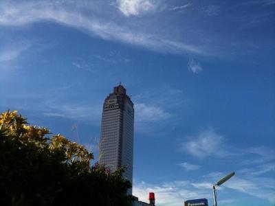 sky above taipei