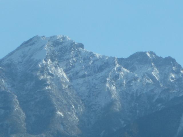 八ヶ岳冠雪