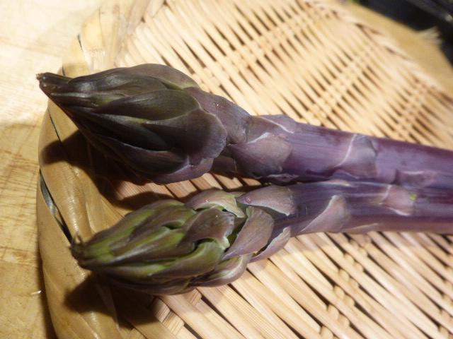 紫アスパラ