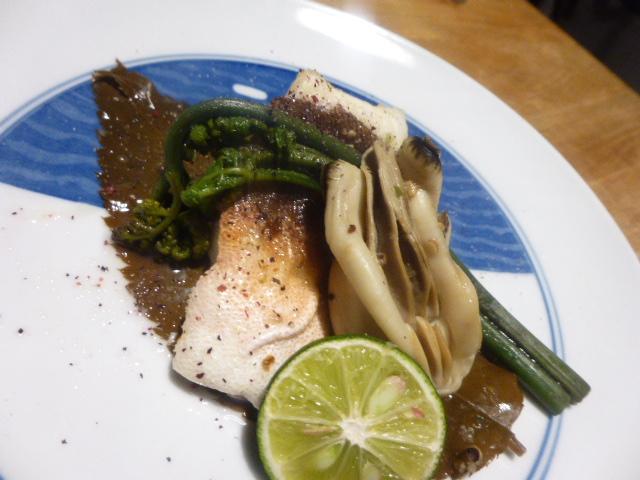 ほうぼう牡蠣煮