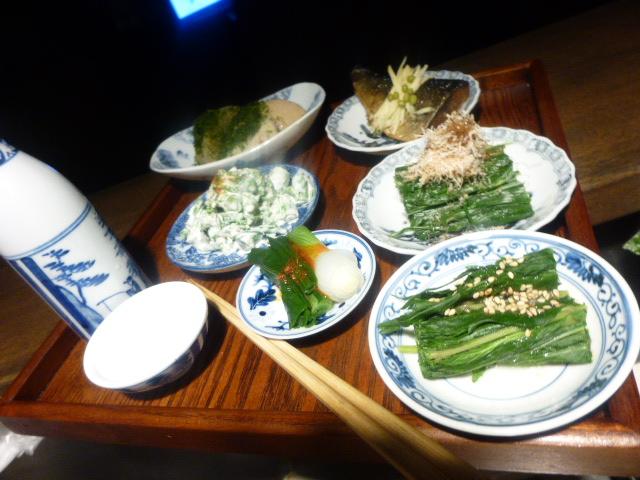 春山菜試作