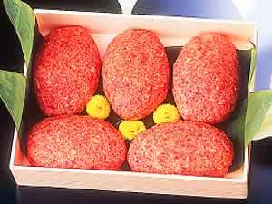 石垣牛ハンバーグ(200g×5個) 最高級牛肉