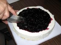 元町マダムがケーキ入刀
