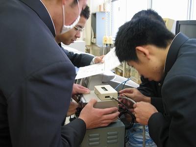 ローテータ制御装置の配線
