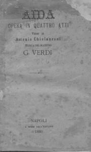 AIDA libretto
