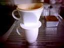 ひとりコーヒー。